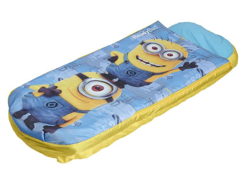 matelas gonflable sac de couchage enfant easy bed minions vente de lit d 39 appoint et matelas. Black Bedroom Furniture Sets. Home Design Ideas
