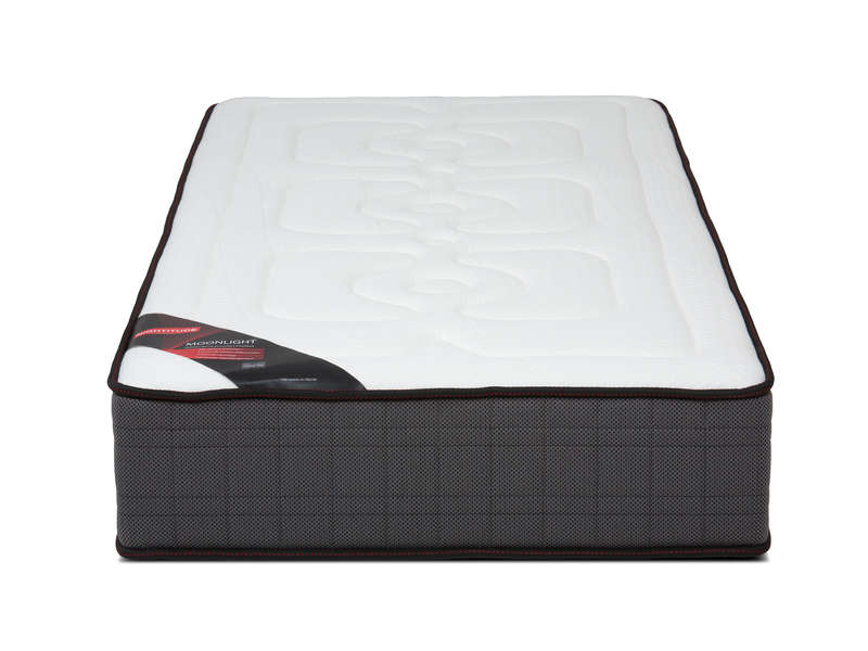 matelas ressorts 90x190 cm nightitude moonlight vente de matelas 2 personnes conforama. Black Bedroom Furniture Sets. Home Design Ideas