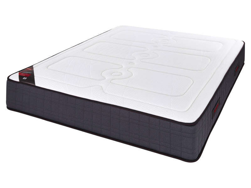 matelas ressorts 160x200 cm nightitude moonlight vente de matelas 2 personnes conforama. Black Bedroom Furniture Sets. Home Design Ideas