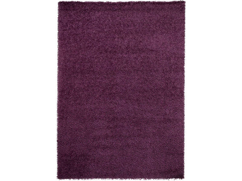 tapis 120x170 cm shaggy coloris violet vente de tapis conforama. Black Bedroom Furniture Sets. Home Design Ideas