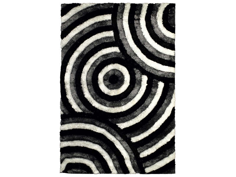 tapis 200 x 300 cm domi cercles vente de tapis conforama. Black Bedroom Furniture Sets. Home Design Ideas