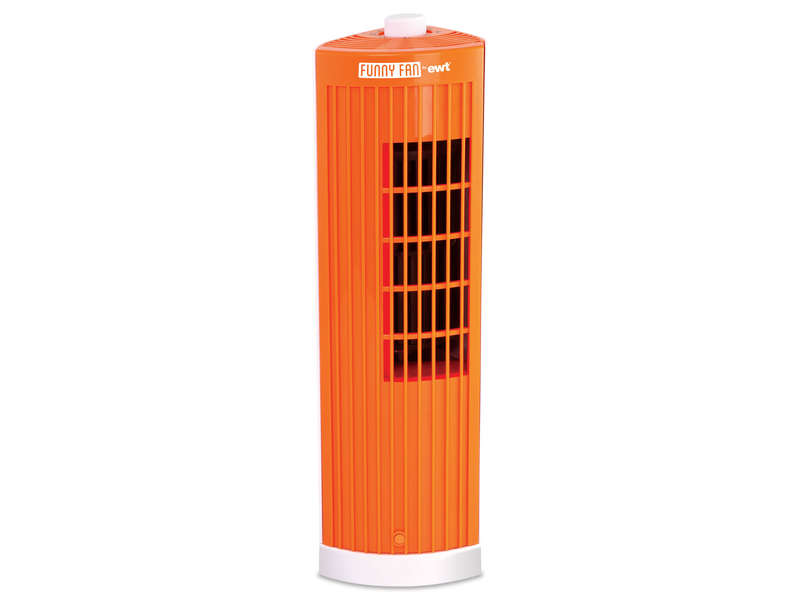 Ventilateur EWT FUNNY FAN ORANGE Vente de Ventilateur et