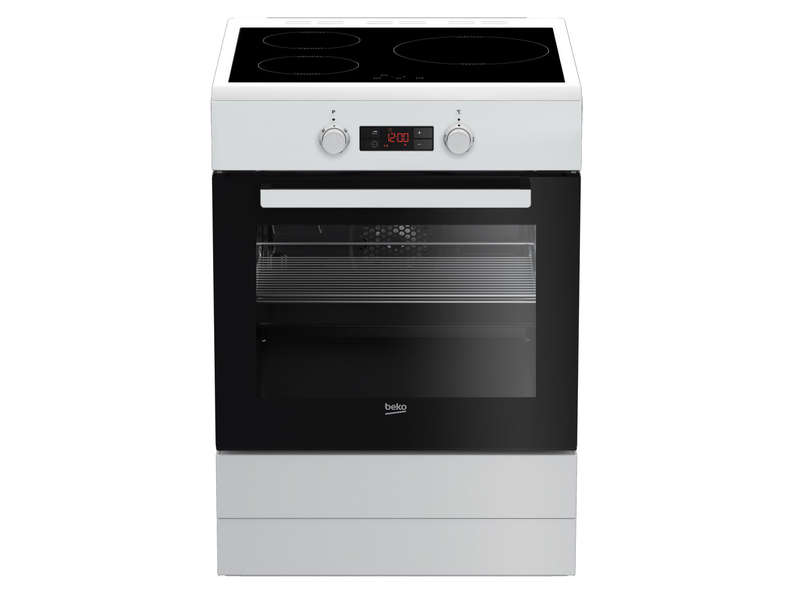 Cuisini re induction 60 cm beko cui60b beko vente de - Cuisiniere electrique conforama ...