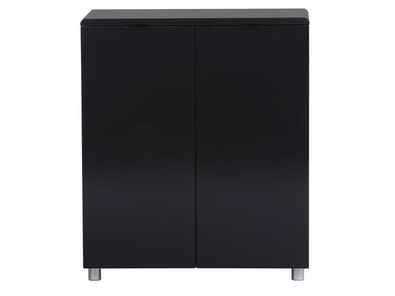 rangement 2 portes easy 3 coloris noir vente de buffet. Black Bedroom Furniture Sets. Home Design Ideas