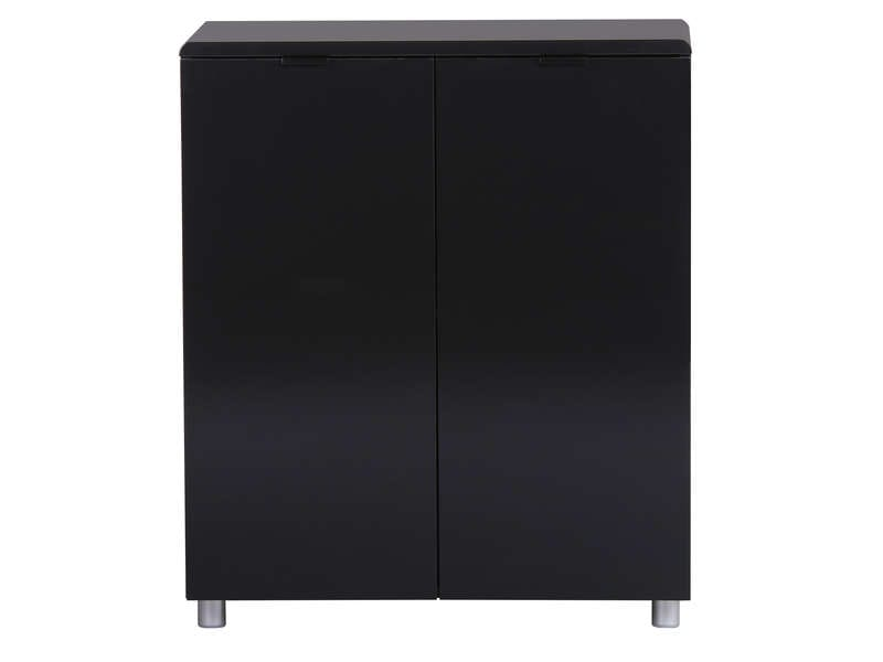 rangement 2 portes easy 3 coloris noir vente de buffet bahut vaisselier conforama. Black Bedroom Furniture Sets. Home Design Ideas