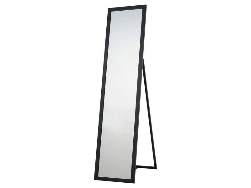 miroir psych 30x140 cm manon coloris noir vente de miroir sur pied et psych conforama. Black Bedroom Furniture Sets. Home Design Ideas
