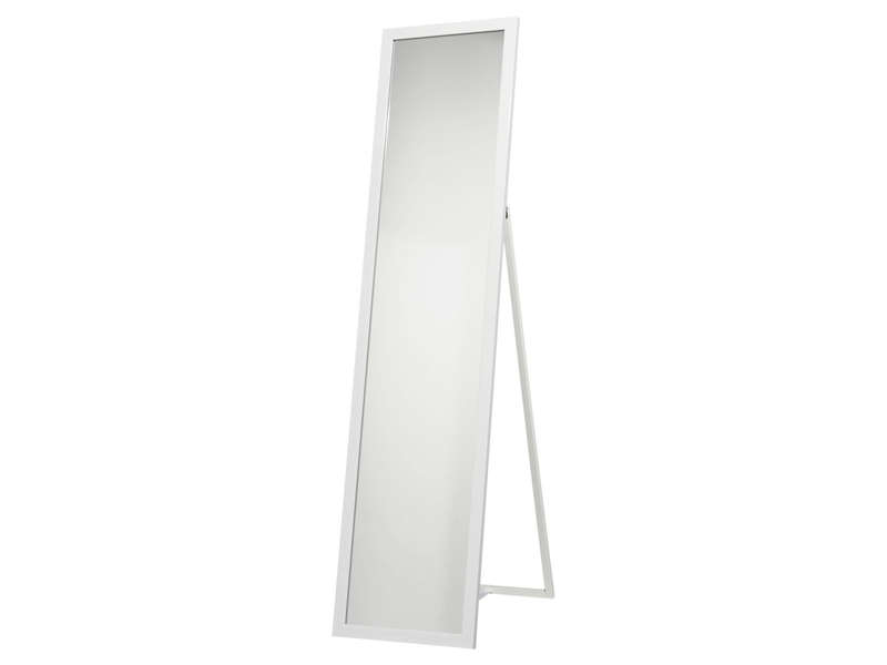 miroir psych 30x140 cm manon coloris blanc vente de miroir sur pied et psych conforama. Black Bedroom Furniture Sets. Home Design Ideas