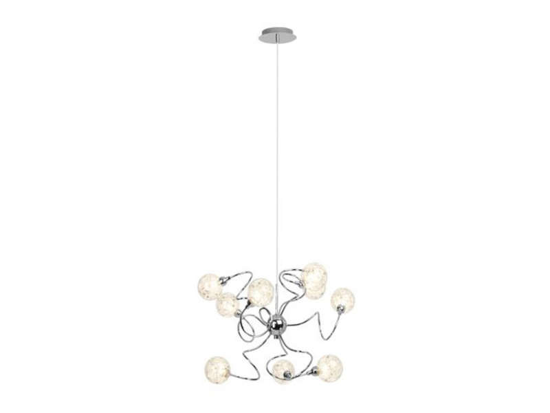 Lustre joya vente de lustre et suspension conforama for Lustre conforama
