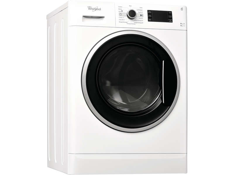 lave linge s chant 8kg whirlpool wwdc8614 whirlpool. Black Bedroom Furniture Sets. Home Design Ideas