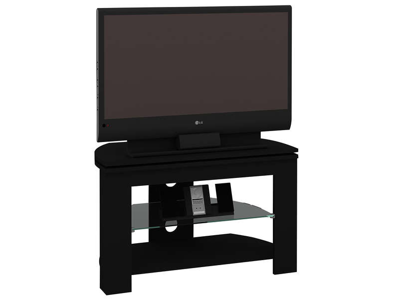Meuble tv passo 4 coloris noir vente de meuble tv for Table de tele
