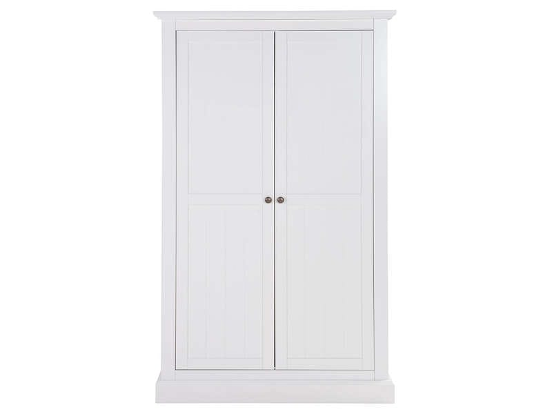 armoire 2 portes l182 cm perfect coloris orme gris pas. Black Bedroom Furniture Sets. Home Design Ideas