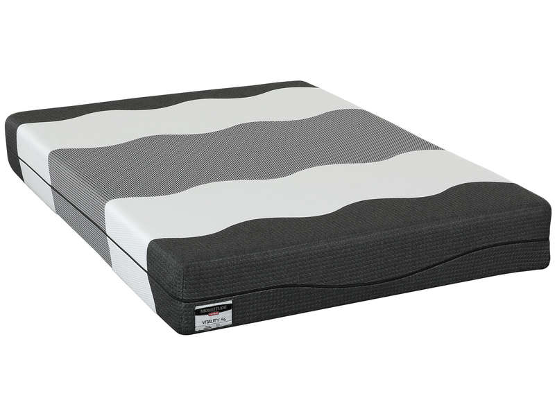 matelas mousse 140x200 cm nightitude premium vitality 45. Black Bedroom Furniture Sets. Home Design Ideas