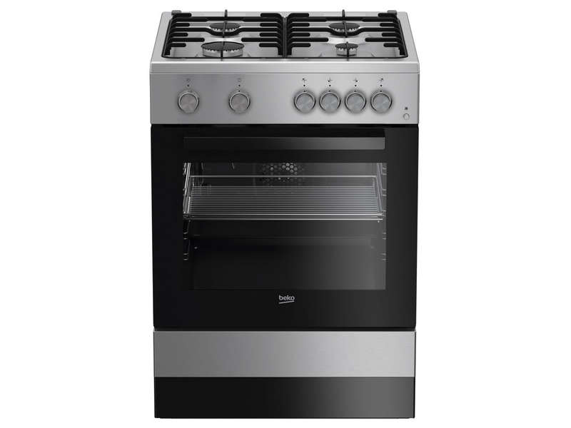 cuisini re gaz 60 cm beko fsg62110dscs beko vente de cuisini re conforama. Black Bedroom Furniture Sets. Home Design Ideas