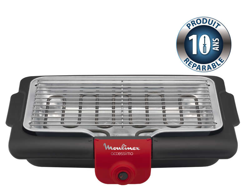 Barbecue lectrique moulinex bg134811 vente de barbecue - Grill electrique de table ...