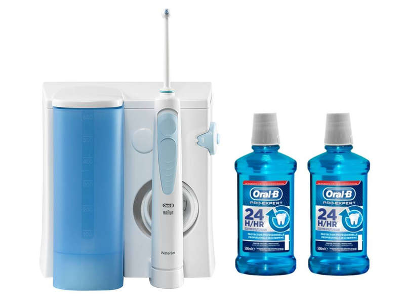 hydropulseur oral b kit multi jet chez conforama. Black Bedroom Furniture Sets. Home Design Ideas