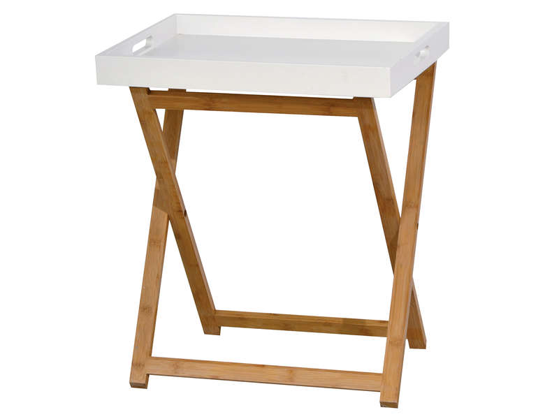 Table pas cher promo et soldes la deco for Table rabattable conforama