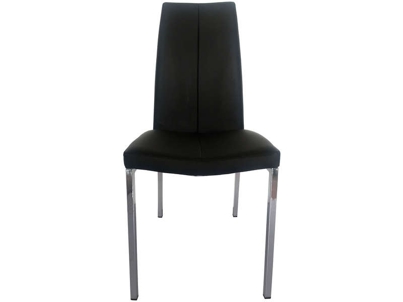 Chaise TWIN coloris noir