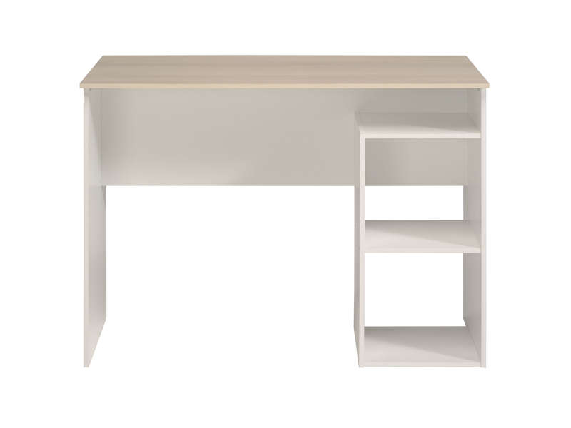 Bureau 2 niches keywords coloris acacia blanc vente de bureau