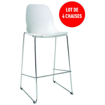Lot de 4 tabourets de bar