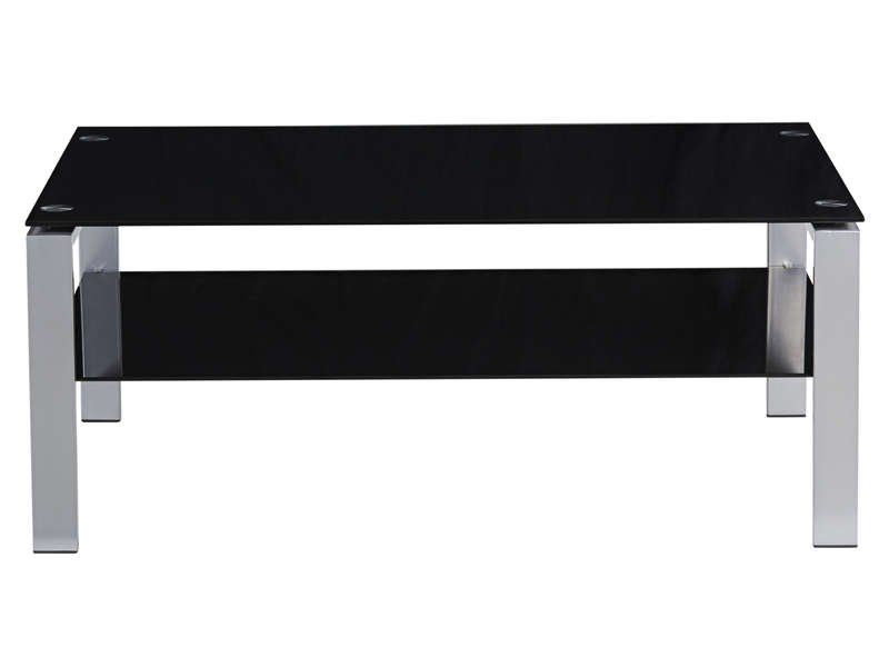table basse shadows coloris noir vente de table basse conforama. Black Bedroom Furniture Sets. Home Design Ideas