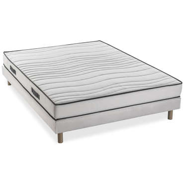 matelas sommier mousse 140x190 cm confobed shell pas cher. Black Bedroom Furniture Sets. Home Design Ideas