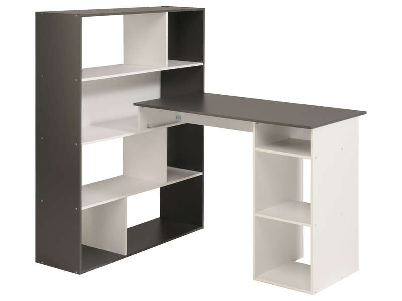Meuble de bureau conforama bureau informatique willow for Meuble zoe conforama