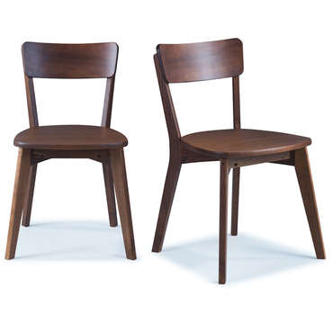 Lot de 2 chaises en pin massif