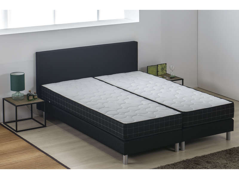 matelas sommier ressorts 160x200 cm volupnight manchester vente de literie de relaxation. Black Bedroom Furniture Sets. Home Design Ideas