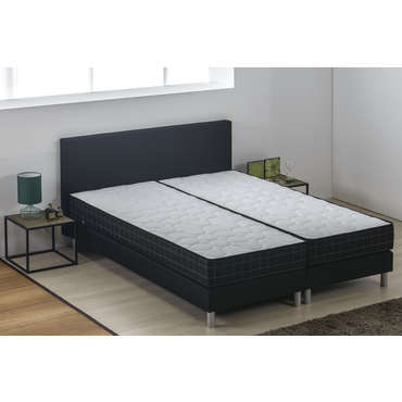 matelas sommier ressorts 160x200 cm volupnight. Black Bedroom Furniture Sets. Home Design Ideas