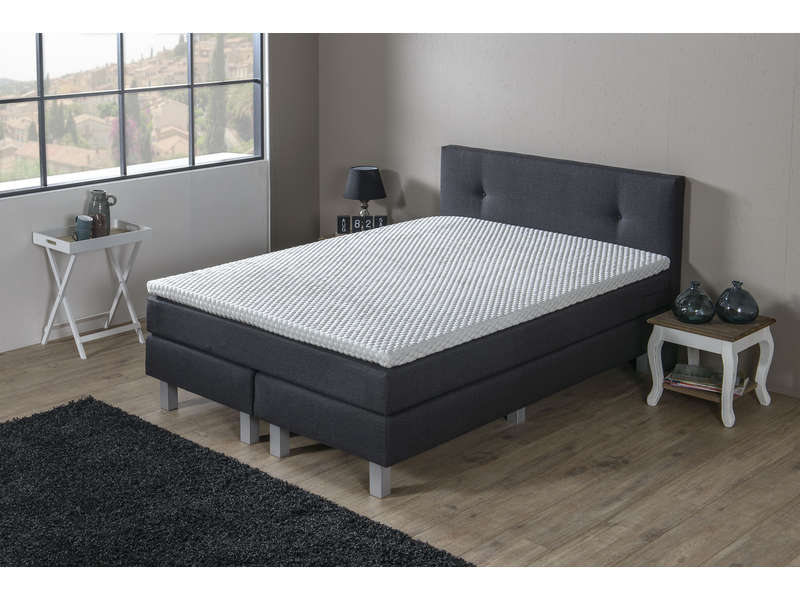 matelas sommier ressorts 140x200 cm volupnight liverpool vente de ensembl. Black Bedroom Furniture Sets. Home Design Ideas