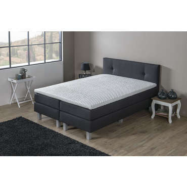 matelas sommier ressorts 160x200 cm volupnight liverpool. Black Bedroom Furniture Sets. Home Design Ideas
