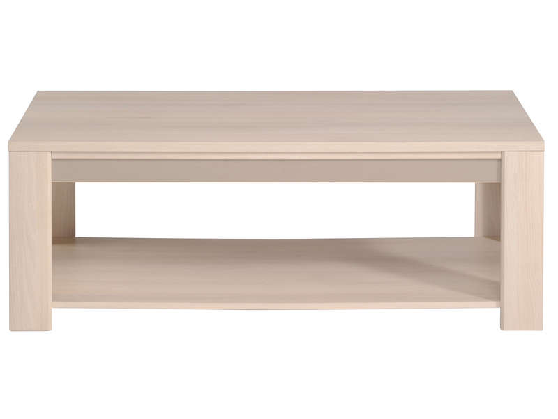 Table basse rectangulaire dune chez conforama for Table conforama