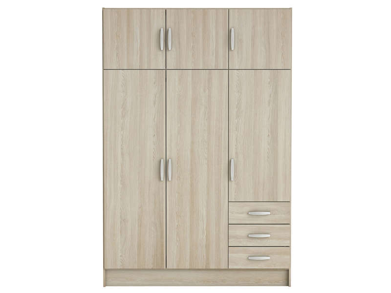 armoire 6 portes 3 tiroirs magnum vente de armoire. Black Bedroom Furniture Sets. Home Design Ideas