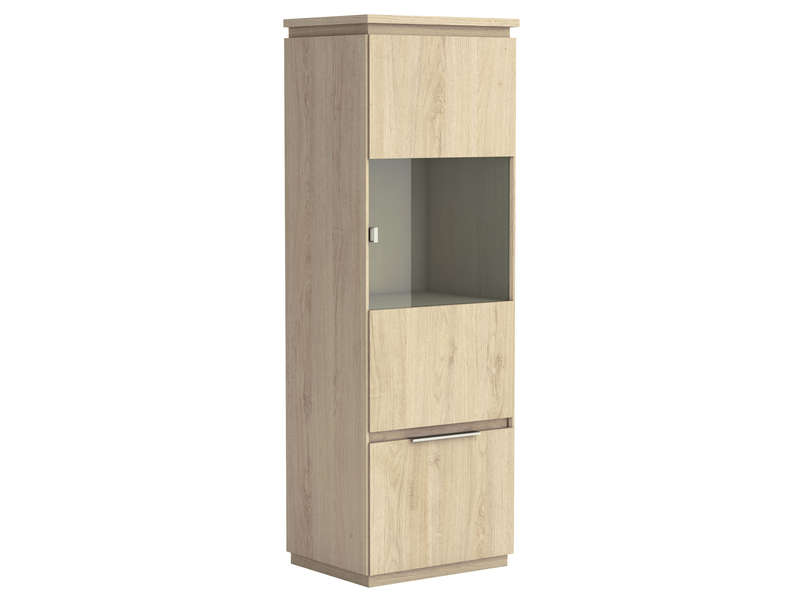 meuble de rangement 1 porte 1 tiroir origin arizona coloris beige vente de buffet bahut. Black Bedroom Furniture Sets. Home Design Ideas