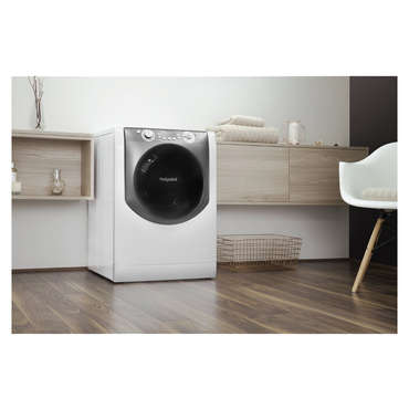 lectrom nager lave linge s chant 9kg hotpoint ariston aqd. Black Bedroom Furniture Sets. Home Design Ideas