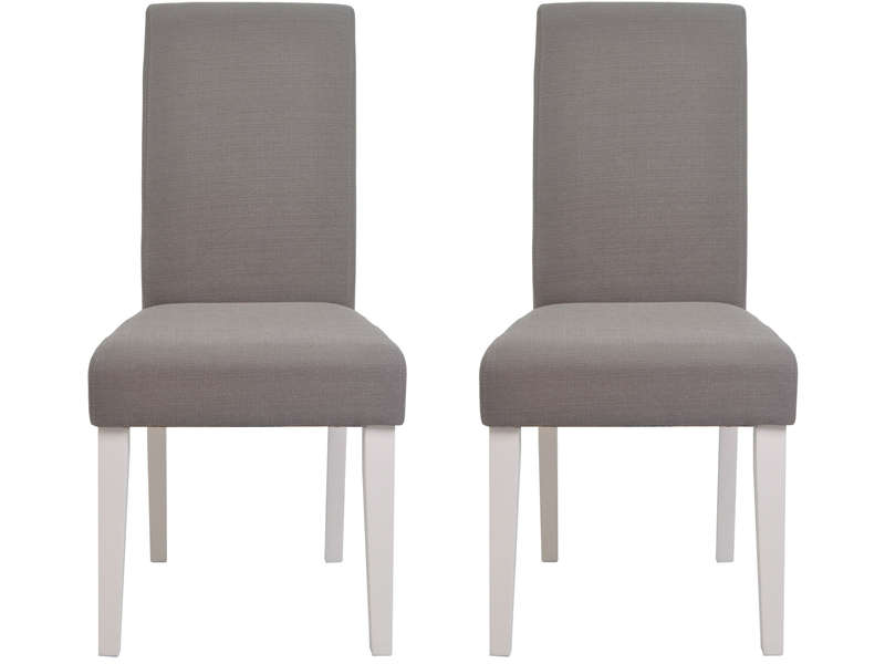lot de 2 chaises duchesse coloris taupe vente de table et chaises de jardin conforama. Black Bedroom Furniture Sets. Home Design Ideas