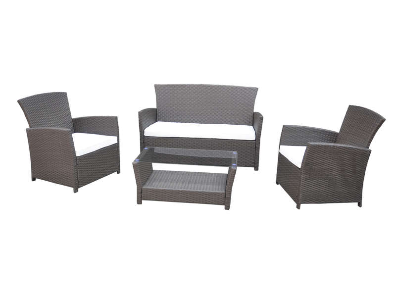 salon de jardin rhodes vente de salon de jardin conforama. Black Bedroom Furniture Sets. Home Design Ideas