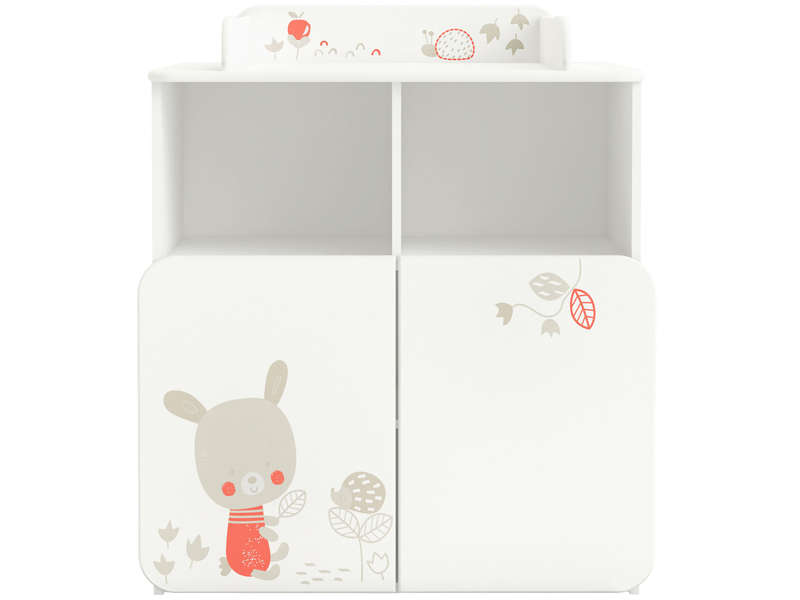 Commode  LAPIN coloris blanc