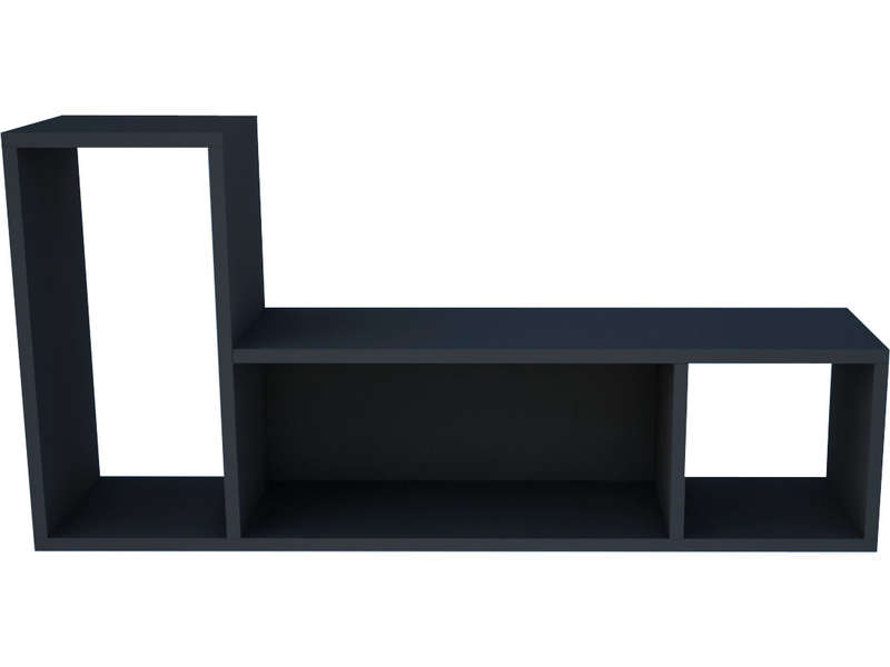 etag re murale uno coloris graphite vente de etag re conforama. Black Bedroom Furniture Sets. Home Design Ideas