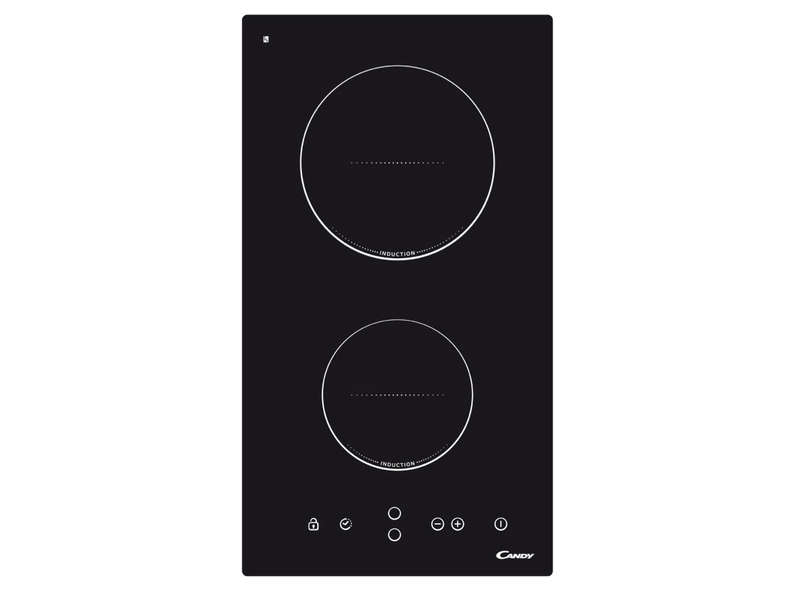 Table de cuisson induction 2 foyers candy cdi 30 candy - Table de cuisson induction 2 foyers a poser ...