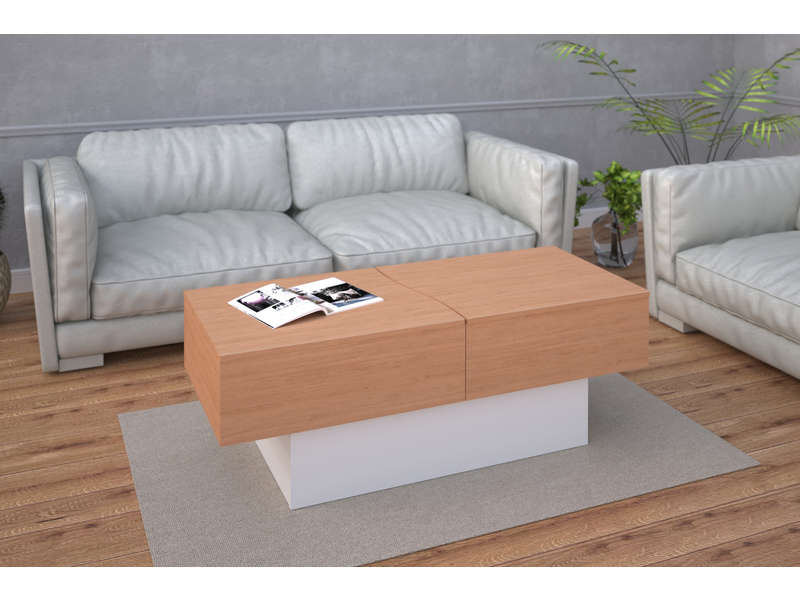 Royaume-Uni disponibilité ac1ab a31c6 Table basse CITY BOX - Vente de Table basse - Conforama