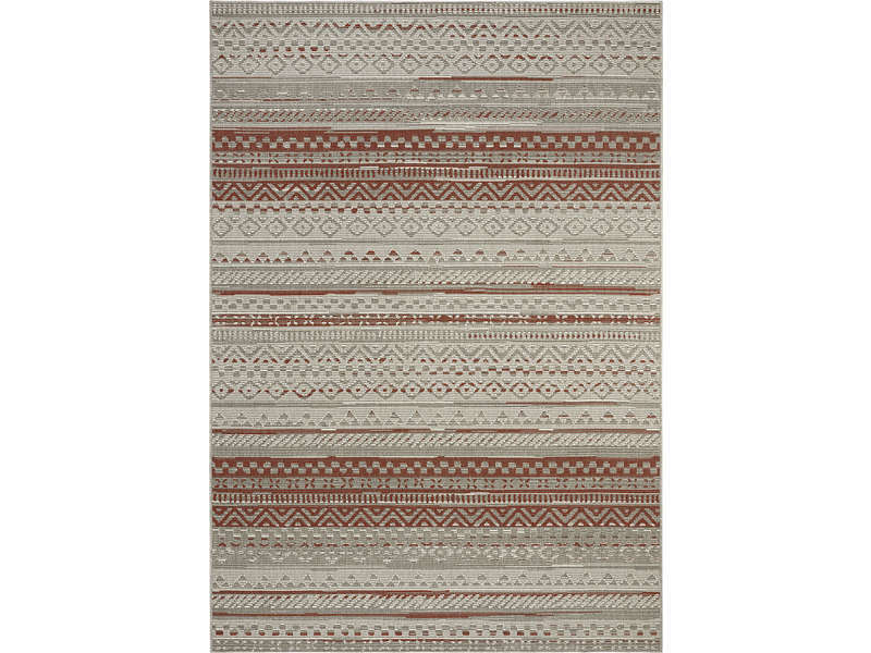 Tapis 160x230 cm  MULTI VINTAGE coloris rouge