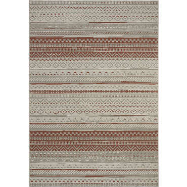tapis 160x230 cm multi vintage coloris rouge. Black Bedroom Furniture Sets. Home Design Ideas