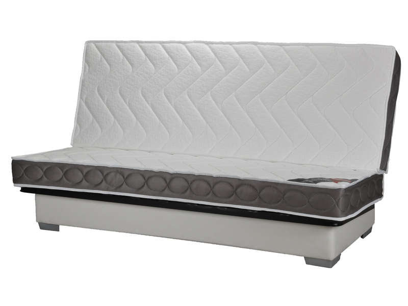 structure clic clac 130 cm matelas 100 latex nightitude premium vente de banquette clic. Black Bedroom Furniture Sets. Home Design Ideas