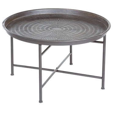 Table basse ronde chez Conforama