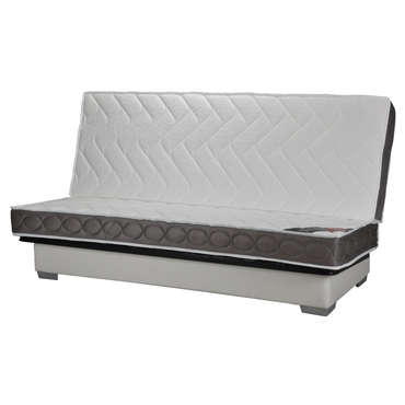 structure clic clac 140 cm matelas 100 latex nightitude premium vente de banquette clic. Black Bedroom Furniture Sets. Home Design Ideas