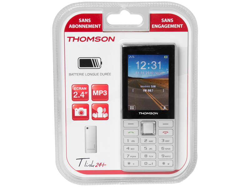 Mobile nu THOMSON TLINK24SIL