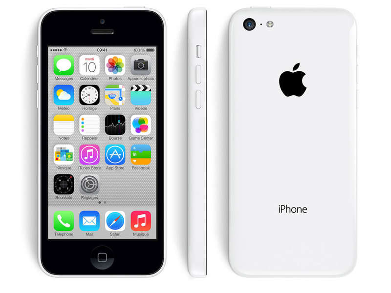 Smartphone reconditionné IPHONE 5C BLANC RECONDITIONNE GRADE A