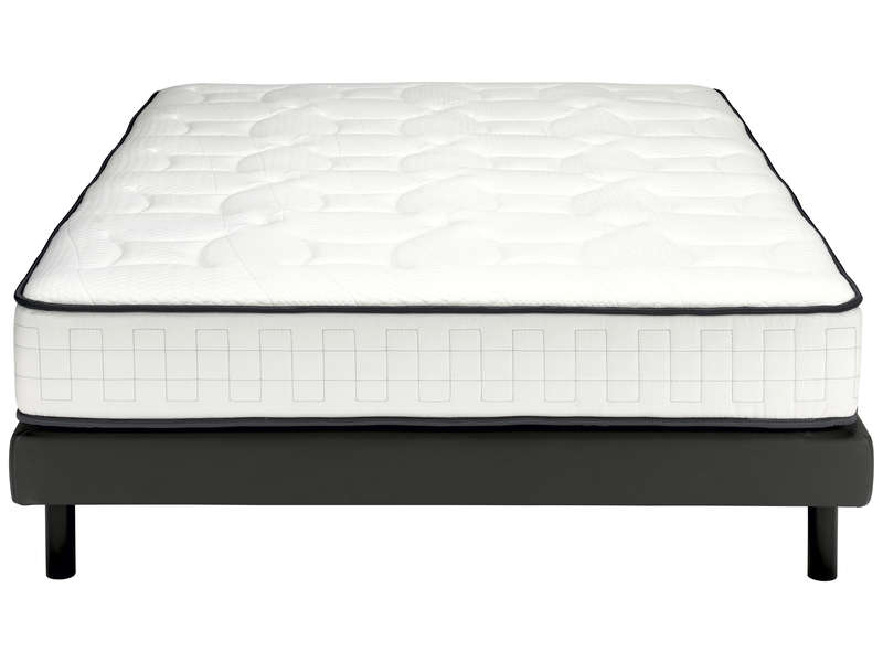matelas ressorts 160x200 cm sommier tapissier nightitude spotlight vente de ensemble matelas. Black Bedroom Furniture Sets. Home Design Ideas