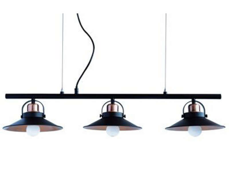 Lustre mirano vente de lustre et suspension conforama for Lustre 3 suspensions